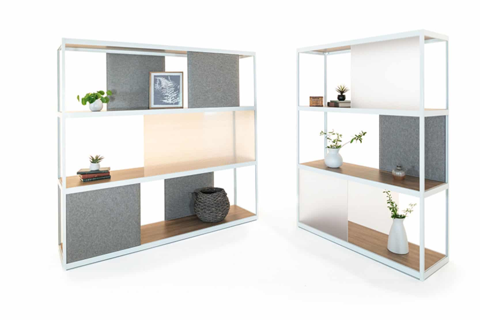 Modern Shelving in Whitespace