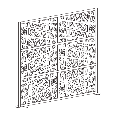 Web Room Dividers